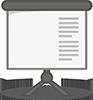 icon of presentation screen